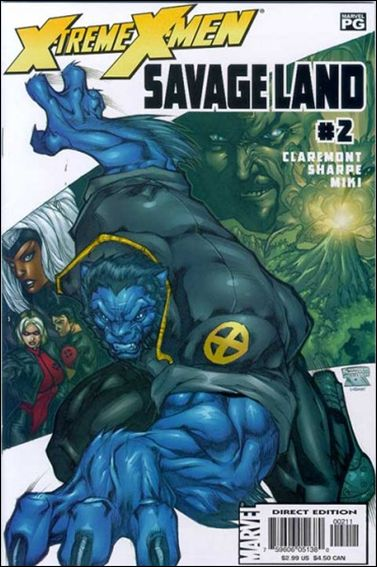 X-Treme X-Men: Savage Land 2-A by Marvel