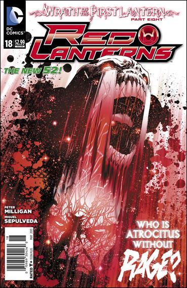 Red Lanterns 18-A by DC
