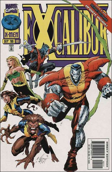 Excalibur (1988) 101-A by Marvel
