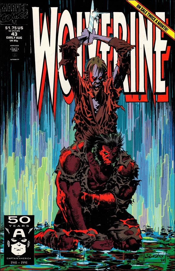 Wolverine (1988)  43-A by Marvel
