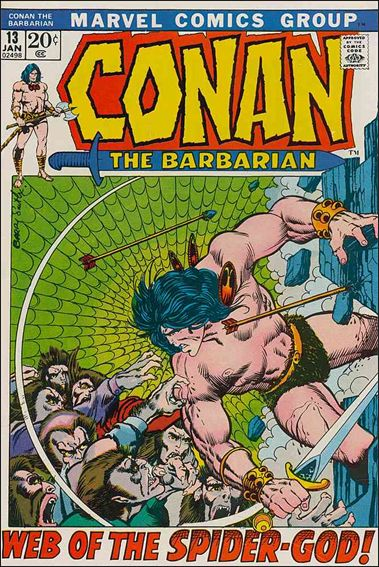 Conan the Barbarian (1970) 13-A by Marvel