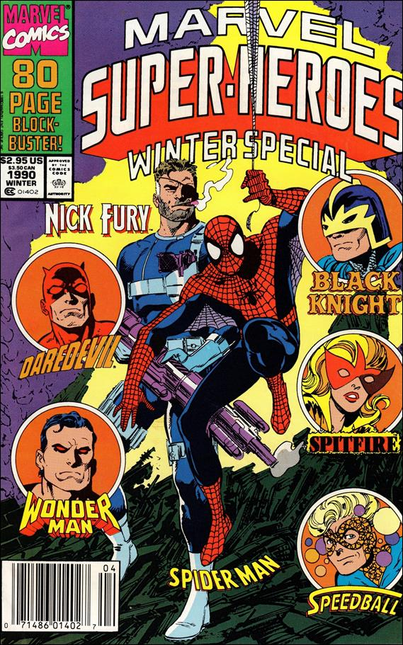 Marvel Super-Heroes (1990) Winter 1990-A by Marvel