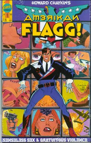 American Flagg! (1988) 9-A by First