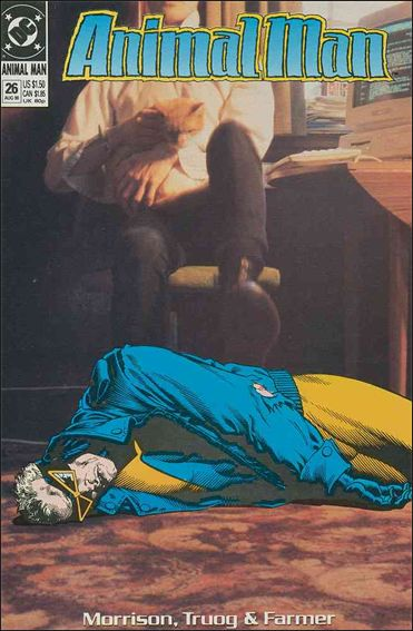 Animal Man (1988) 26-A by Vertigo