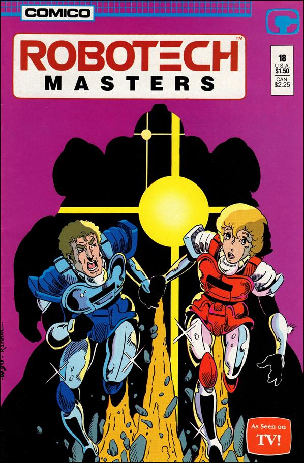 Robotech: Masters 18-A by Comico