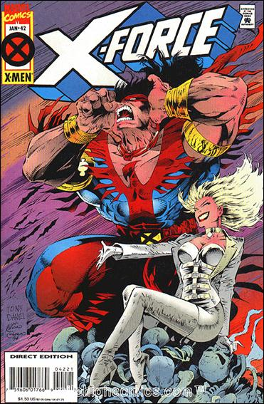 X-Force (1991) 42-B by Marvel