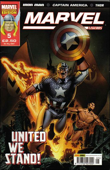 Marvel Legends (UK) 5-A by Panini