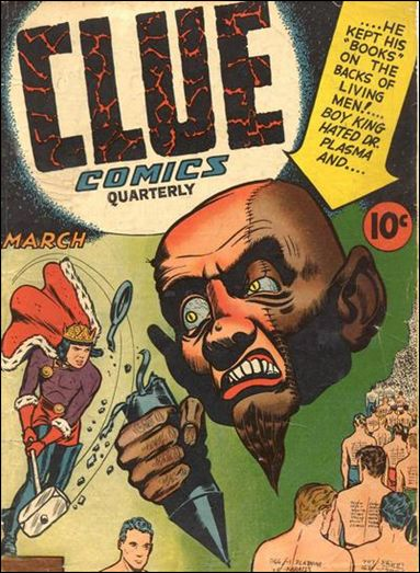Clue Comics (1943) 7-A by Hillman