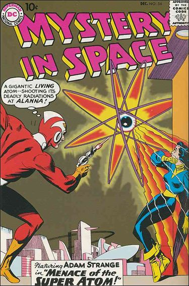 Mystery in Space (1951) 56-A by DC