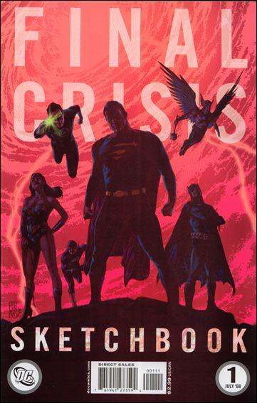 Final Crisis Sketchbook 1-A by DC