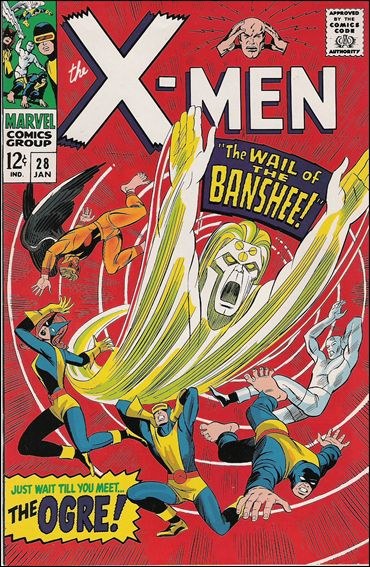 X-Men (1963) 28-C by Marvel