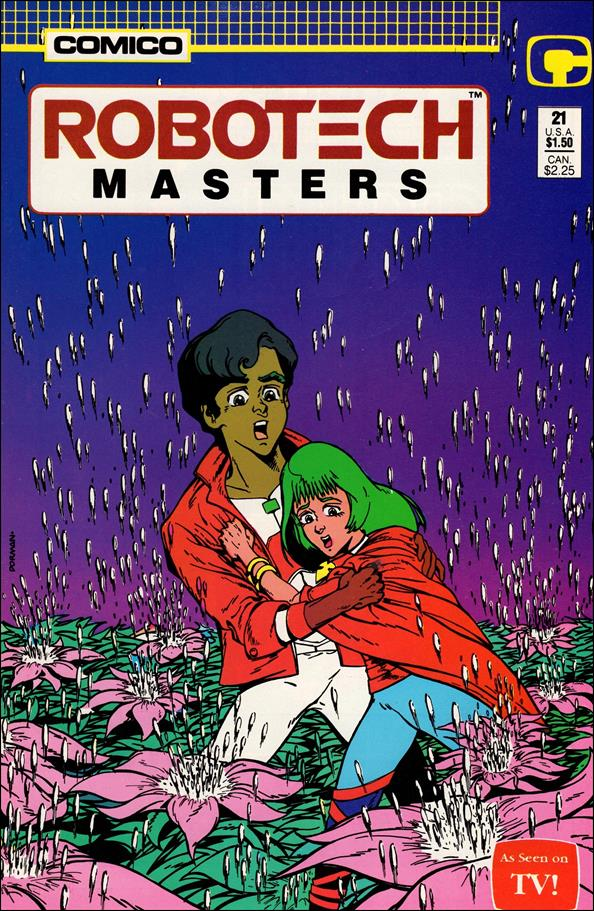 Robotech: Masters 21-A by Comico