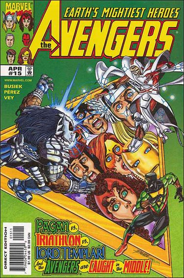 Avengers (1998) 15-A by Marvel