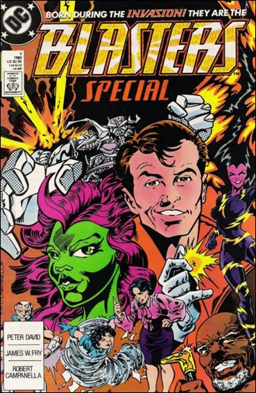 Blasters Special 1-A by DC
