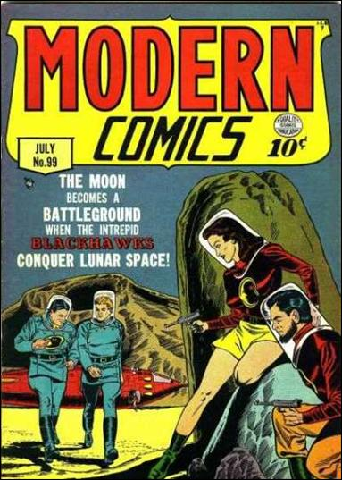 Modern Comics 99-A by Quality