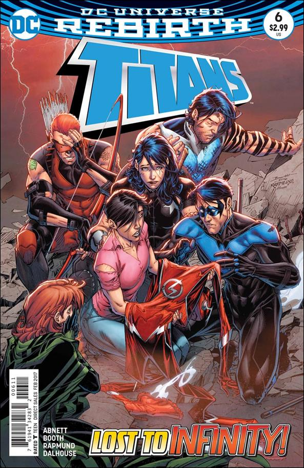 Titans (2016) 6-A by DC