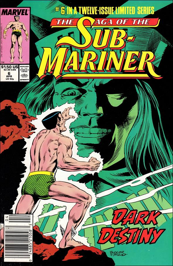 Saga of the Sub-Mariner 6-A by Marvel