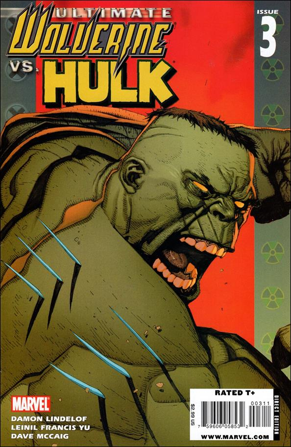 Ultimate Wolverine vs Hulk 3-A by Marvel