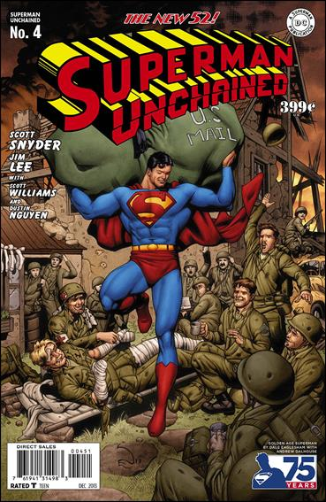 Superman Unchained 4-J by DC