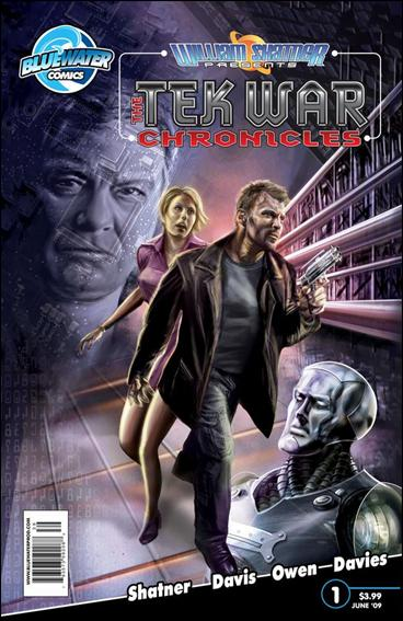 William Shatner Presents: The Tek War Chronicles 1-A by Bluewater Comics