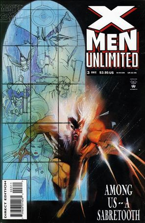 X-Men Unlimited (1993) 3-A