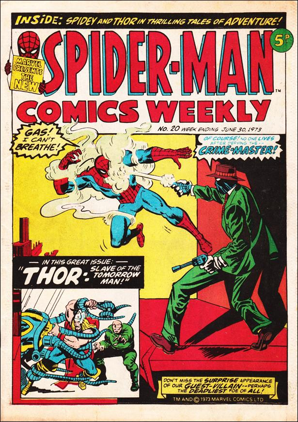Spider-Man: Comics Weekly (UK) 20-A by Marvel UK