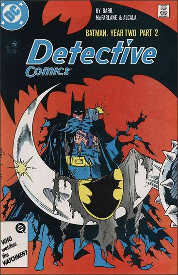 Detective Comics (1937) 576-A by DC