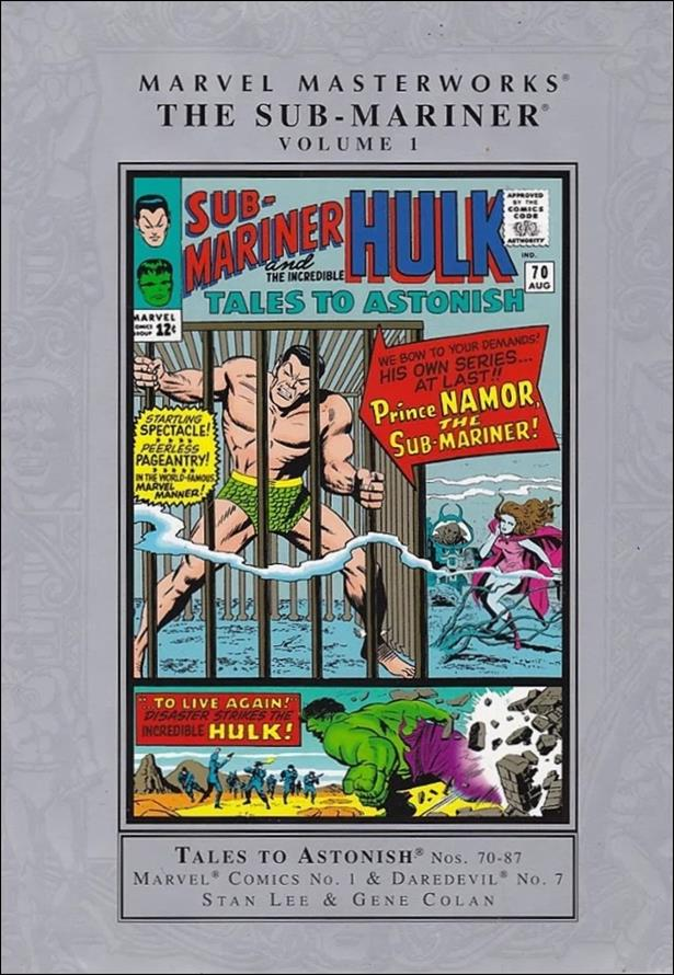 Marvel Masterworks: The Sub-Mariner 1-A by Marvel