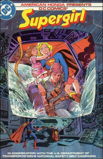 American Honda Presents: Supergirl 1984-A by DC