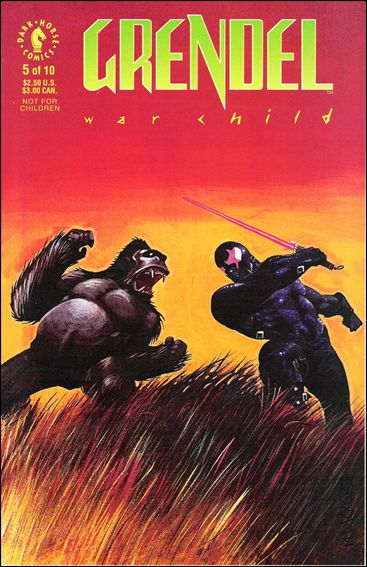 Grendel: War Child 5-A by Dark Horse