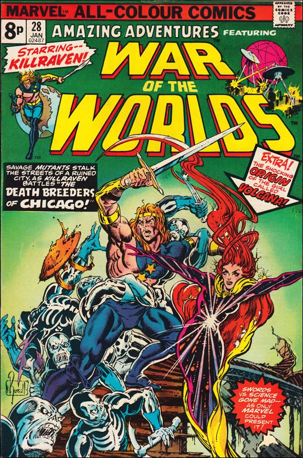 Amazing Adventures (1970) 28-B by Marvel