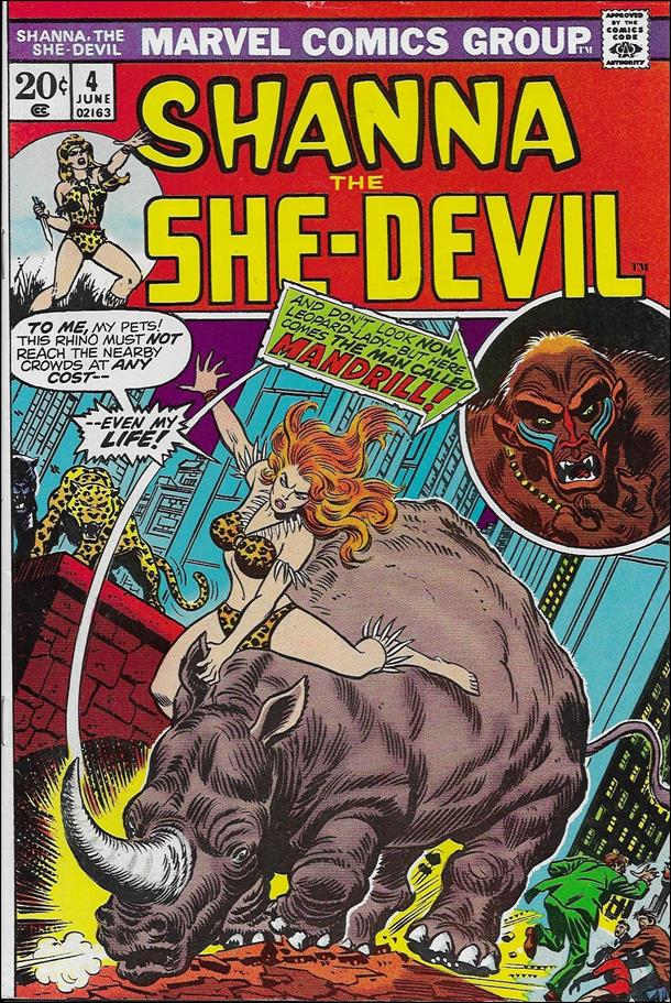 Shanna the She-Devil (1972) 4-A by Marvel