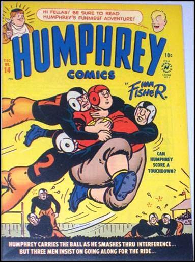 Humphrey Comics 14-A by Harvey