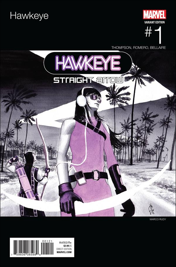 Hawkeye 1 C, Feb 2017 Comic Book by Marvel