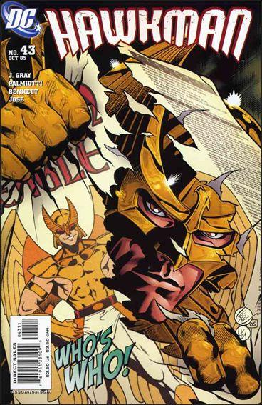 Hawkman (2002) 43-A by DC