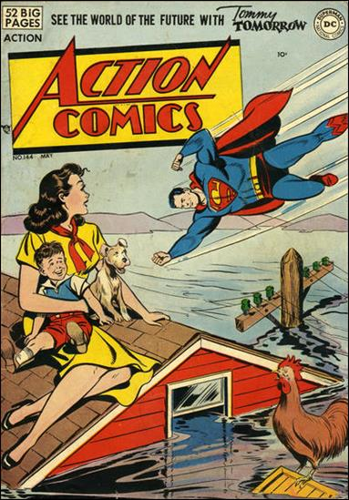 Action Comics (1938) 144-A by DC