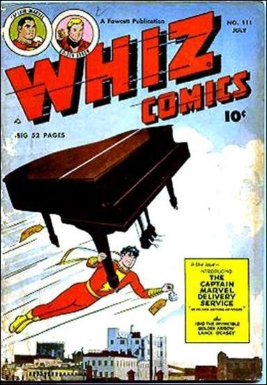 Whiz Comics 111-A by Fawcett