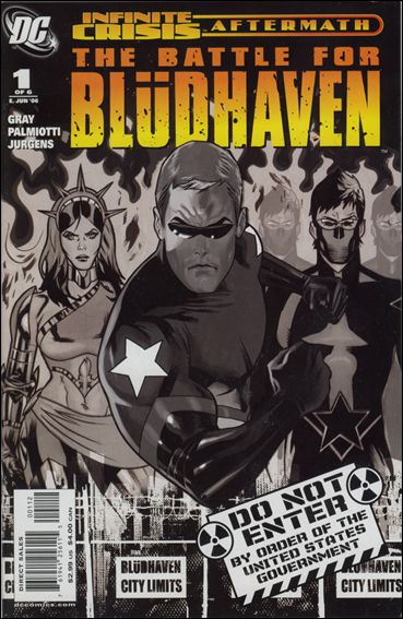Crisis Aftermath: The Battle For Bludhaven 1-B by DC