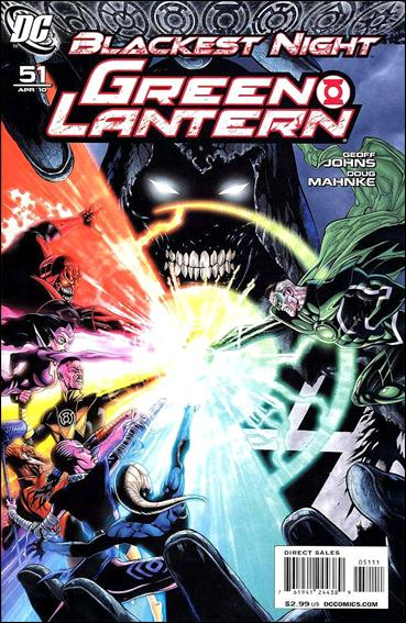 Green Lantern (2005) 51-A by DC