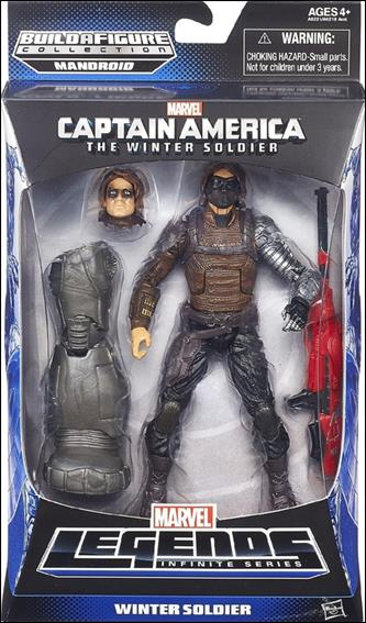Marvel Legends Infinite: Captain America (Mandroid Series) Winter Soldier (Movie) by Hasbro