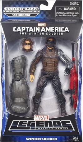 Marvel Legends Infinite: Captain America (Mandroid Series) Winter Soldier (Movie)