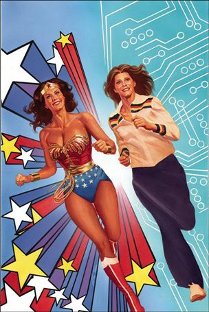 Wonder Woman '77 Meets The Bionic Woman 1-H