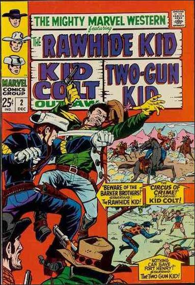 Mighty Marvel Western 2-A by Marvel