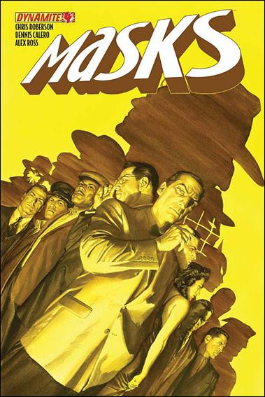 Masks 4-A by Dynamite Entertainment