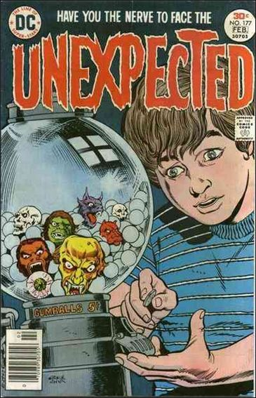Unexpected (1968) 177-A by DC
