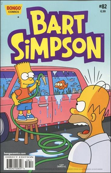 Simpsons Comics Presents Bart Simpson 82-A by Bongo