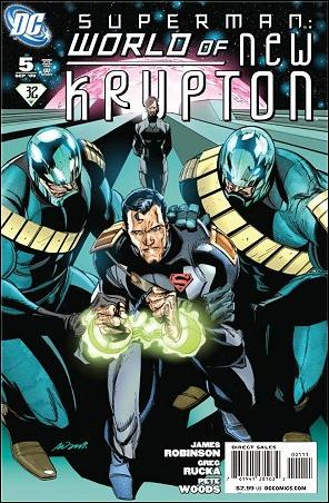 Superman: World of New Krypton 5-B by DC