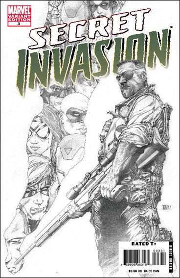 Secret Invasion 3-D by Marvel