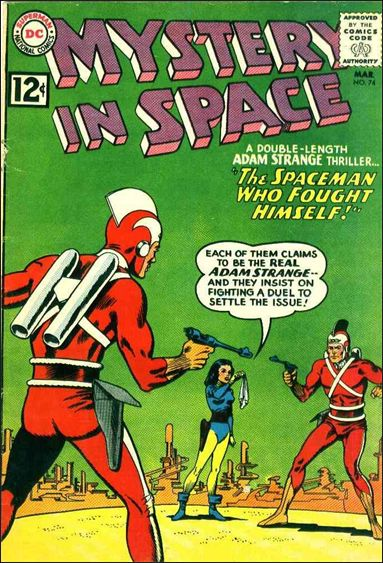 Mystery in Space (1951) 74-A by DC