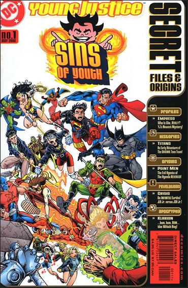Sins of Youth Secret Files 1-A by DC
